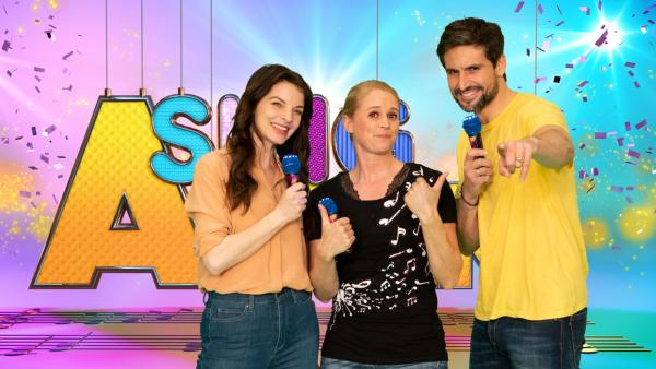 SingAlarm: Singa mit Yvonne Catterfeld und Tom beck im Studio   Rechte: ZDF/MES