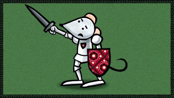 Sir Mouse ist eine unerschrockene Ritterin. | Rechte: SWR/scopas medien AG