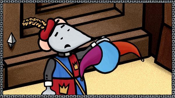 Bode verkündet, dass der König einen Hofnarren sucht.   Rechte: SWR/scopas medien AG
