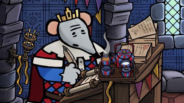 King ist ein vielbeschäftigter Mann.   Rechte: SWR/scopas medien AG