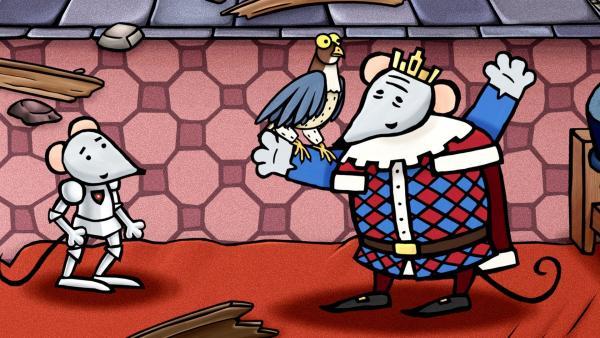 Kings Falke ist sein Ein und Alles. | Rechte: SWR/scopas medien AG