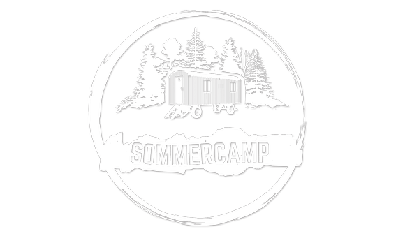 "Logo ""SommerCamp - Back To The Roots"" 