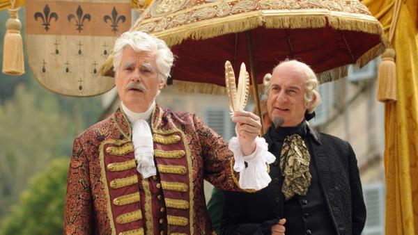 Fürst Gundolf (Sky Du Mont, li.) und Julius (Michael Schönborn) | Bild: BR/Barbara Bauriedl | Rechte: BR/Barbara Bauriedl