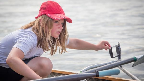 Hannah ist zehn Jahre alt und lebt in Köln. Rudern ist ihre neue absolute Leidenschaft. | Rechte: ZDF/EBU