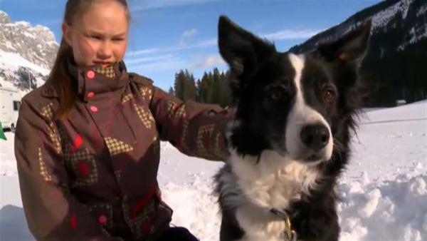 Anja mit Hund | Rechte: ZDF/SRF/EBU