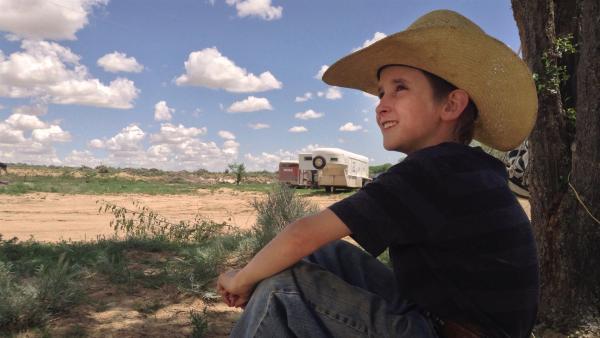 Crowley ist 11 Jahre alt und lebt in Colorado/USA. Wenn er erwachsen ist, will er unbedingt Cowboy werden. | Rechte: ZDF/Thomas Bergmann