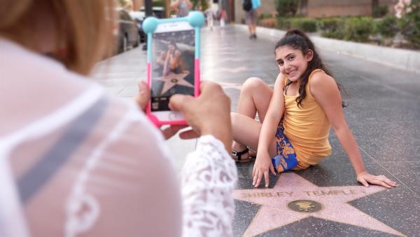Seanna träumt von einem eigenen Stern auf dem Hollywood-Boulevard. Dafür ist sie mit ihrer Mutter von Florida nach Los Angeles gezogen. | Rechte: ZDF/Tom Bergmann