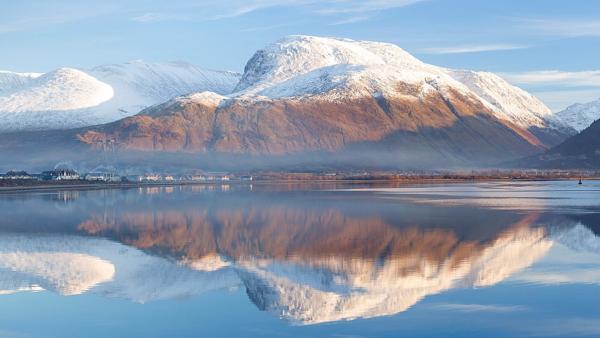 Lachlan will in seiner Heimat Schottland viele Berge besteigen. Der Ben Nevis wird der letzte Berg für Lachlan sein, den er in der Challenge erklettern muss. Mit 1345 Metern ist er der höchste Berg in Großbritannien und er ist nicht ungefährlich zu erklimmen. | Rechte: ZDF/David Speight