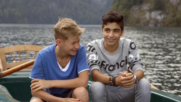 Ibrahim und Jeremia - Brüder auf Zeit | Rechte: ZDF