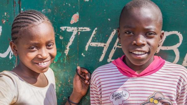 Phylis und Shawn - Wir kinder aus Kibera   Rechte: ZDF