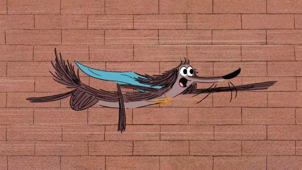 Stinki wäre so gerne ein Superheld. Als Hundefänger Stinkis Freunde einfangen, bekommt Stinki die Chance, seine vermeintlichen SuperkrŠfte anzuwenden. | Rechte: SWR/Dandelooo