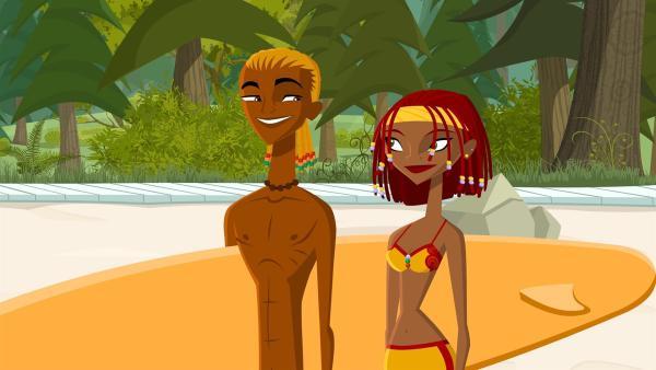 Seine neue Freundin hat ihn dazu inspiriert: Broseph trägt jetzt Rastazöpfe! | Rechte: KiKA/FreshTV/Cake Entertainment