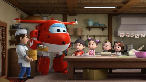 Jett will Mei und ihren Freunden helfen Dim Sum zuzubereiten. | Rechte: KiKA/FunnyFlux/QianQi/EBS/CJ E&M
