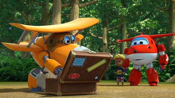 Onkel Albert kommt, um beim Anlocken der Vögel zu helfen. | Rechte: KiKA/FunnyFlux/QianQi/EBS/CJ E&M