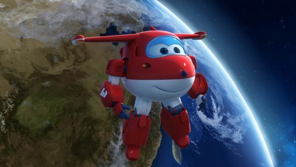 Jett ist im Weltall, um Yun zurück zur Erde zu holen. | Rechte: KiKA/FunnyFlux/QianQi/EBS/CJ E&M