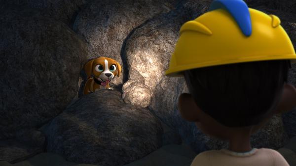 Endlich hat Angelo seinen kleinen Hund gefunden. | Rechte: KiKA/FunnyFlux/QianQi/EBS/CJ E&M