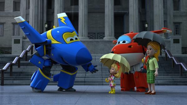 Jerome kommt, um den verlorenen Teddy wiederzufinden. | Rechte: KiKA/FunnyFlux/QianQi/EBS/CJ E&M