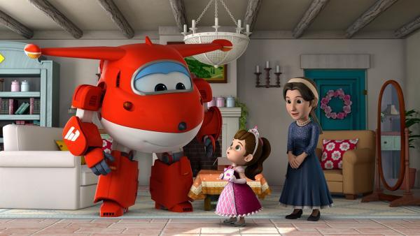 Colette und ihre Mutter  wollen auf einen Märchenball.  | Rechte: KiKA/FunnyFlux/QianQi/EBS/CJ E&M