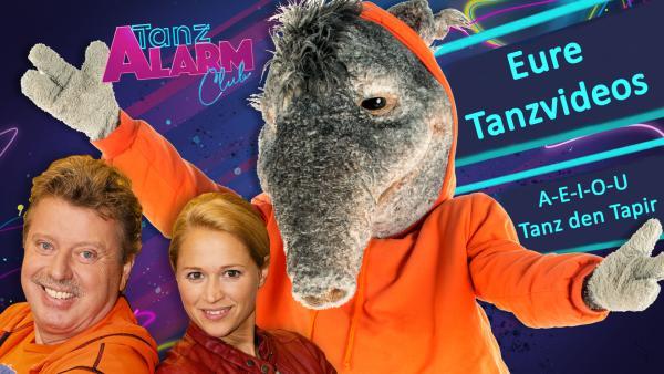 A-E-I-O-U: Tanz den Tapir | Rechte: KiKA/Olivia Hanse
