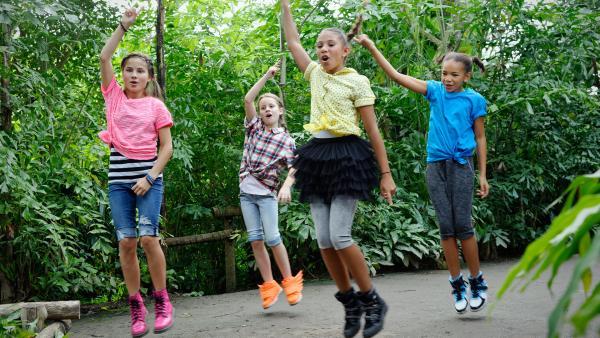 TanzAlarm-Kids tanzen im Zoo | Rechte: KiKA / Mingamedia