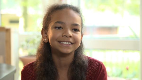 Hannah gehört zu den neuen TanzAlarm-Kids. | Rechte: KiKA/MingaMedia