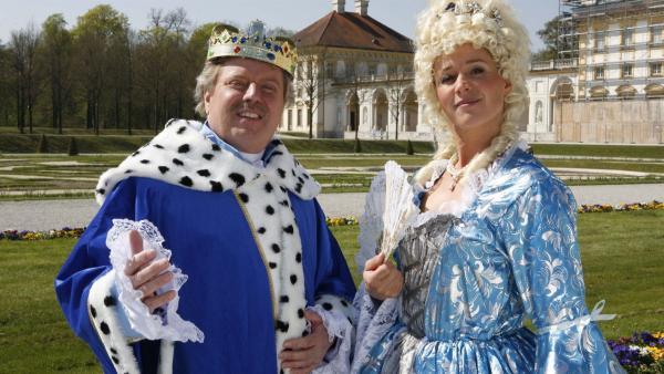 Volker träumt von einem Leben als König gemeinsam mit Königin Singa. | Rechte: KiKA/ZDF/Ilona Kolar
