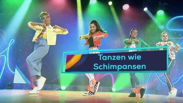 Tanzen wie Schimpansen | Rechte: KiKA