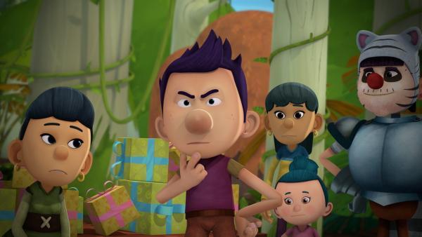 Kann Du fragt sich, was er von Tashi zum Geburtstag geschenkt bekommt.   Rechte: KiKA/Flying Bark Productions Pty Ltd.