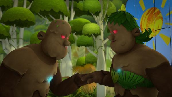 Der Golem hat eine Partnerin gefunden.  | Rechte: KiKA/Flying Bark Productions Pty Ltd.