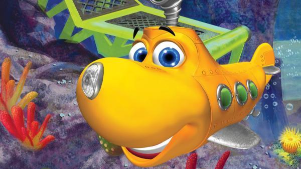 Timmy ist ein junges U-Boot, das zusammen mit seinen Freunden seine Welt entdeckt. Er ist begeisterungsfähig, fröhlich und optimistisch und er setzt alles daran, unter Anleitung seines Lehrers Taucher Tom, einmal ein großes und richtiges Forschungs-U-Boot zu werden. | Rechte: KiKA/Mike Young Prod.