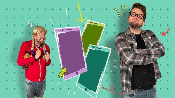 Du möchtest ein Smartphone? Tim erklärt dir, wie es klappt. | Rechte: KiKA