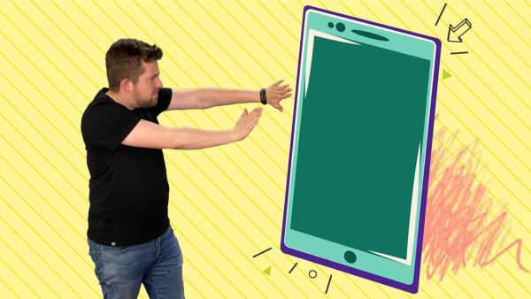 Tim hat für dich ein paar Tipps, wie du dein Handy schneller weglegen kannst. | Rechte: KiKA