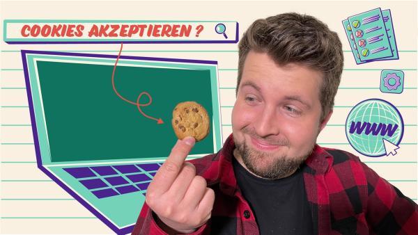 Darf Tim alle Cookies akzeptieren? | Rechte: KiKA