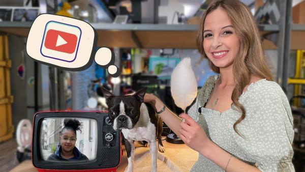 Soraya und Jimmy haben Tipps, was ihr gegen gruselige Videos auf YouTube tun könnt. Und Youma trifft die Journalistin Alice Hasters. | Rechte: KiKA