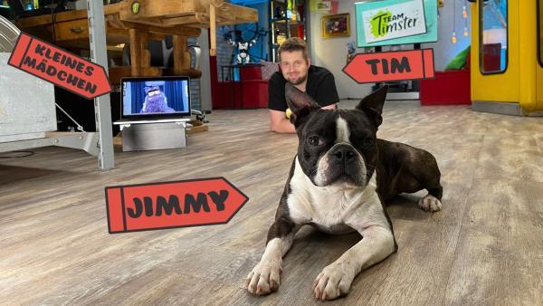 Alle da! Jimmy, Tim und das kleine Mädchen. | Rechte: KiKA