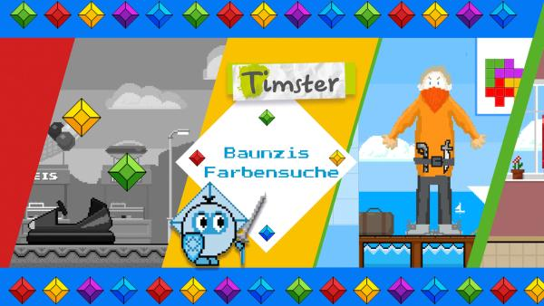 Baunzis Farbensuche | Rechte: KiKA