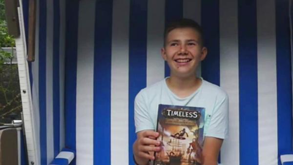 Timster Buchtester Justus | Rechte: KiKA