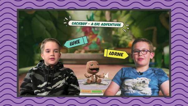 Luke und Lorne testen | Rechte: KiKA
