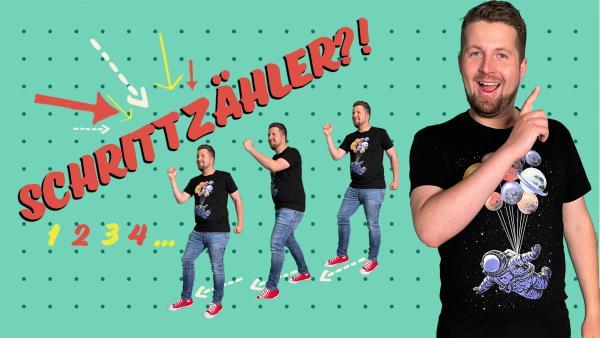 So funktionieren Schrittzähler - Team Timster | Rechte: KiKA