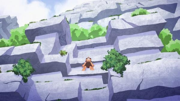 Beim Klettern wird Lad von seiner Höhenangst überwältigt. Kann er sich retten?   | Rechte: KiKA/hr/TF1/GO-N Productions