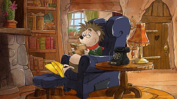 Nicht nur seine Erscheinung ist stachelig, Rupert benimmt sich auch so. Igel lieben es, ihre Ruhe zu haben. Tilda weiß, dass Rupert eine harte Schale hat, aber auch ein umso weicheres Herz. | Rechte: MDR/WunderWerk