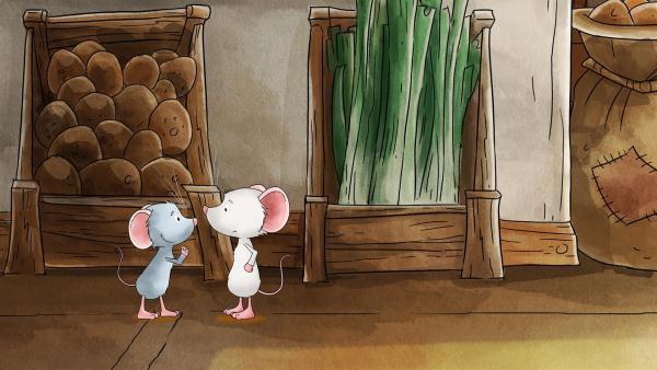 Molly hat aufregende Neuigkeiten für Tilda. | Rechte: MDR/WunderWerk