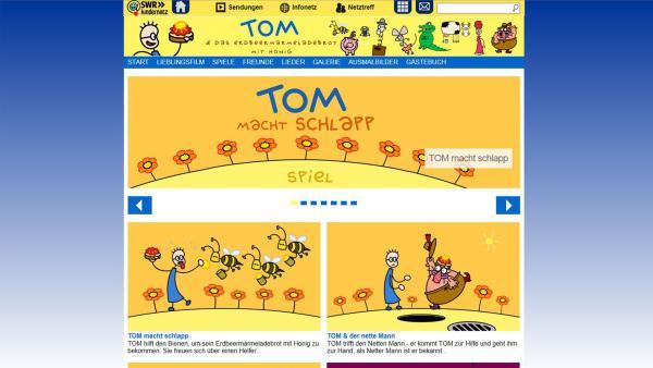Tom im Kindernetz | Rechte: SWR