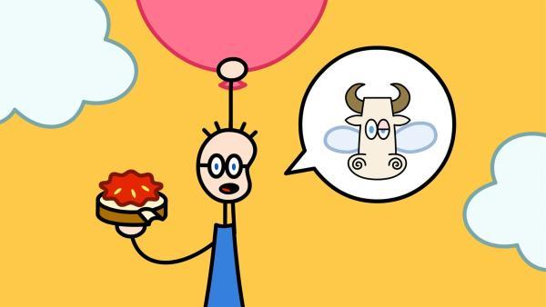 TOM ist in Not: Wie ging noch mal der Reim mit der Kuh? | Rechte: SWR/Hykade