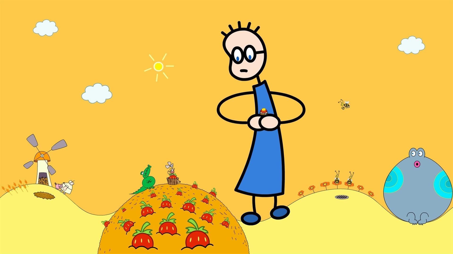 tom und das erdbeermarmeladebrot mit honig text