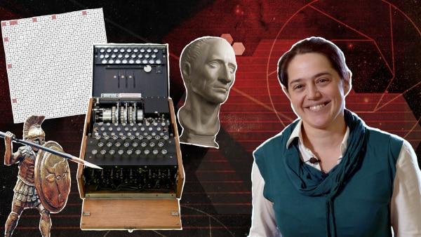 Dr. Carola Dahlke nimmt dich mit auf eine Reise durch die Kryptologie - Die Lehre der Geheimnisse. | Rechte: KiKA / Colourbox