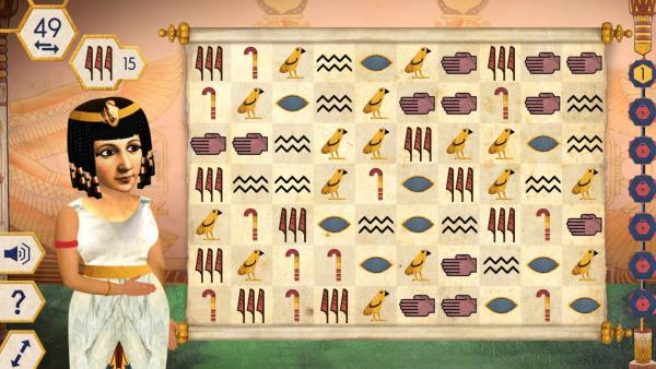 Triff... Kleopatra - Das Spiel | Rechte: KiKA