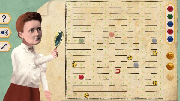 Triff... Marie Curie - Das Spiel | Rechte: KiKA