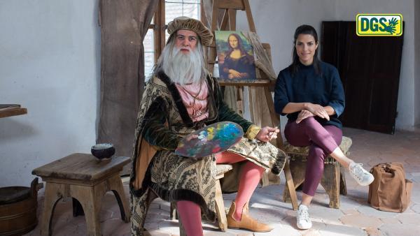 Leonardo da Vinci - DGS | Rechte: KiKA