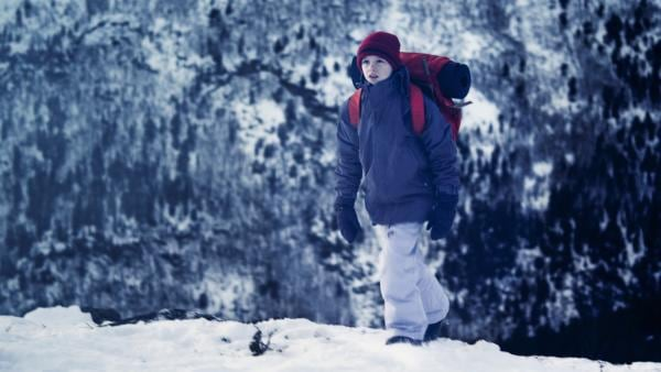 Hendrik (Brage Eiesar Storkjörren) auf dem Weg zu seinem Geheimversteck. | Rechte: NDR/NordicStories